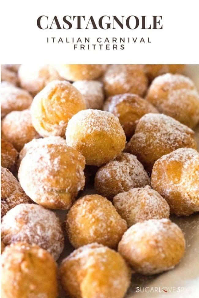 Castagnole (Italian Carnival Fritters)-pinterest