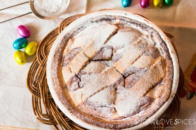 Italian Easter Pastiera-Pastiera Napoletana