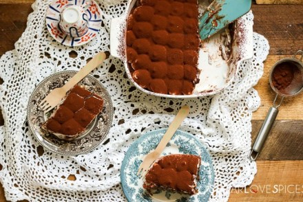Chocolate and Mascarpone Cream Tiramisu