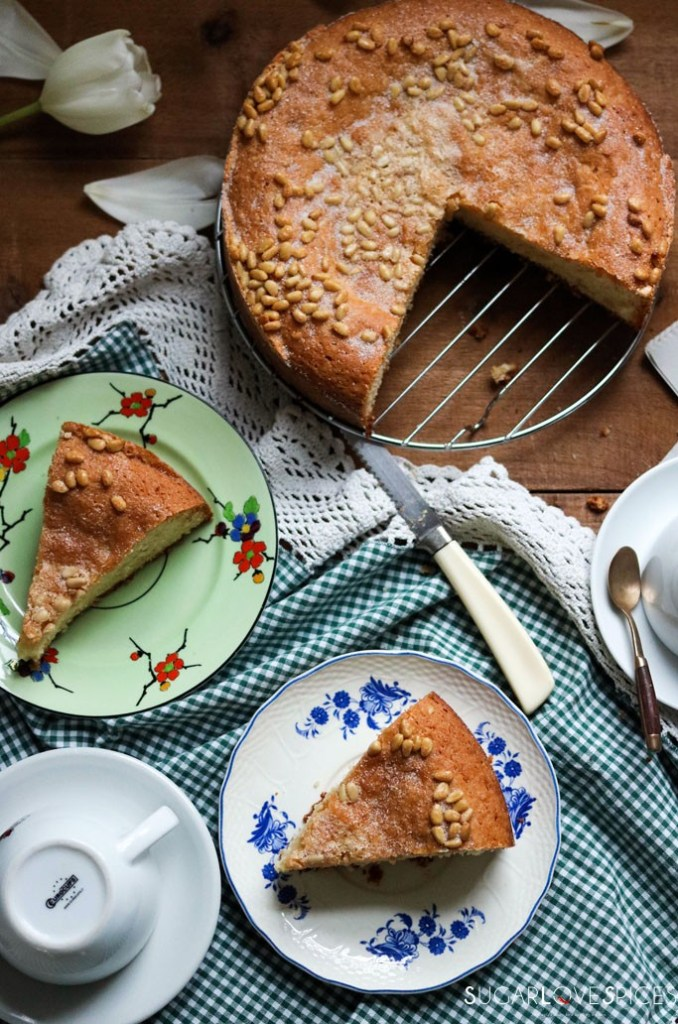 Pinolata, Italian Pine Nut Cake