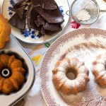 Rice flour chocolate mini bundt cakes