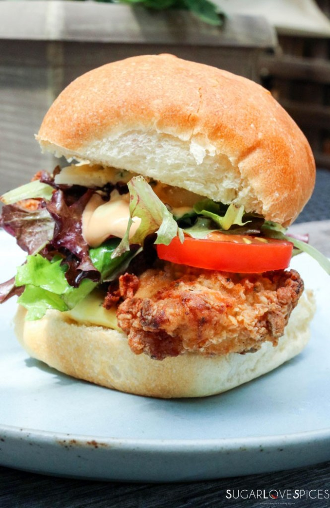 Best Buttermilk Fried Chicken-Sandwich