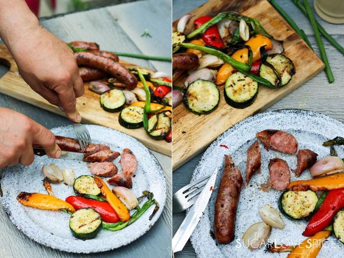 Italian Fennel Sausage Kabob