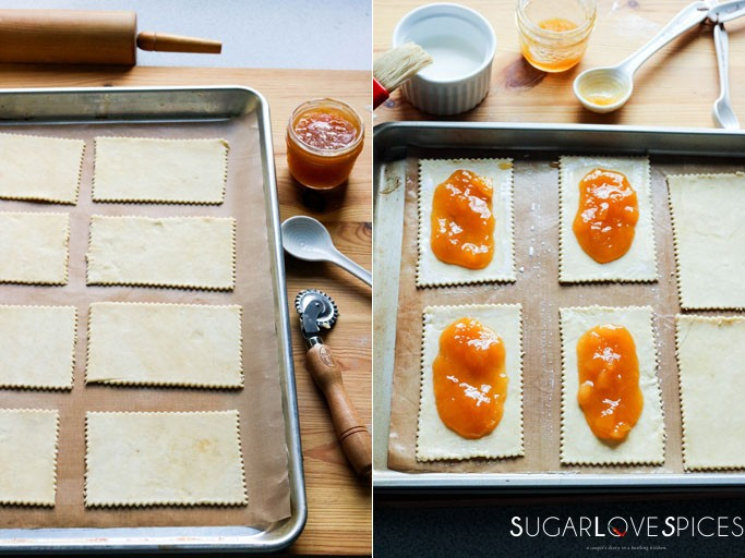 Back To School Back-To-School Stone Fruit Jam Pockets