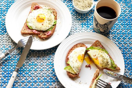 Avocado Egg Toast with Hemp Seeds-feature