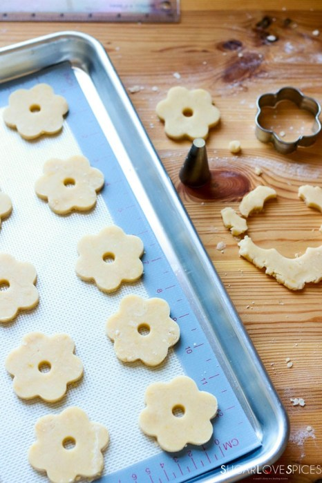 Canestrelli, Italian Shortbread Cookies-prep
