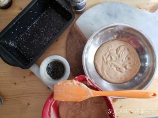 Tahini Black Sesame Tea Cake-prep2