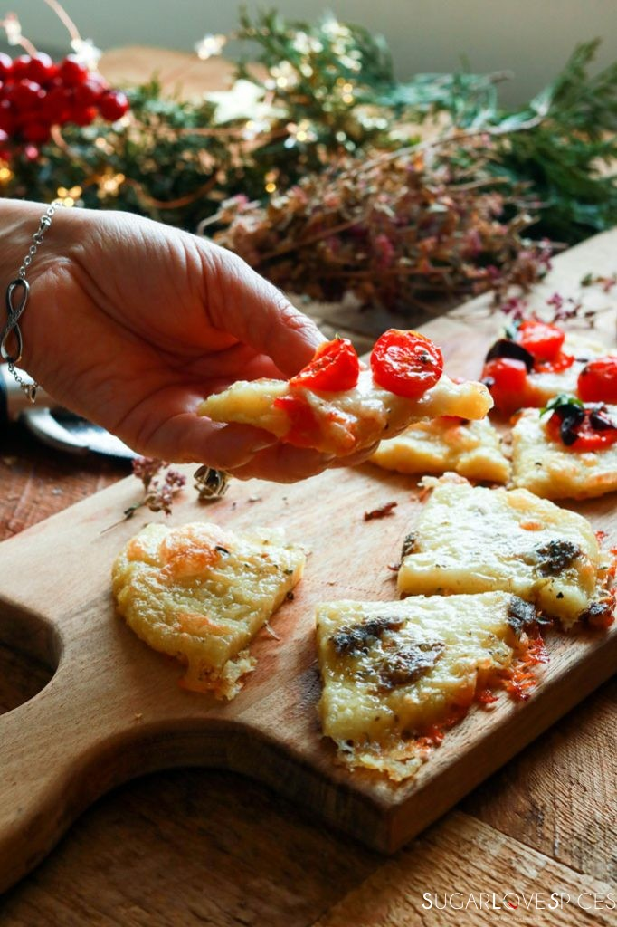 Holiday Potato Mini Pizza