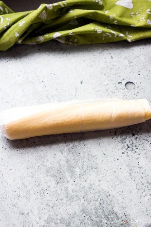 Rotoli di Frittata-spinach-roll