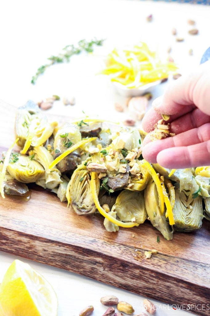 Artichoke and Lemon Salad