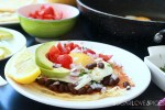 Huevos Rancheros with Black Bean and Avocado