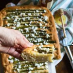Spring Focaccia with Lemon Asparagus