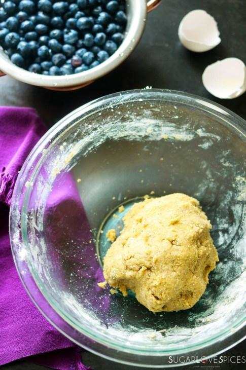 Mustikkapiirakka (Finnish Blueberry Pie)-crust dough