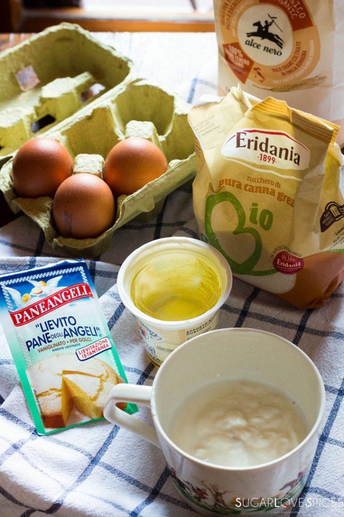 Ciambella allo yogurt (Easy Yogurt Cake)-ingr