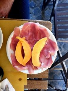 When in Rome, Roma Antica Tour, prosciutto e melone