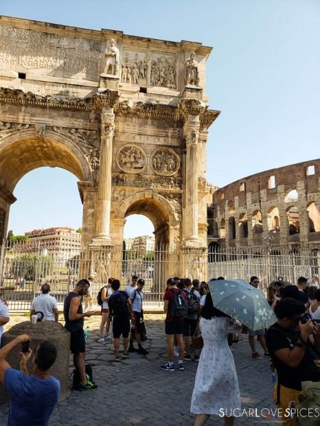 When in Rome, Roma Antica Tour-Constatntine's Arc