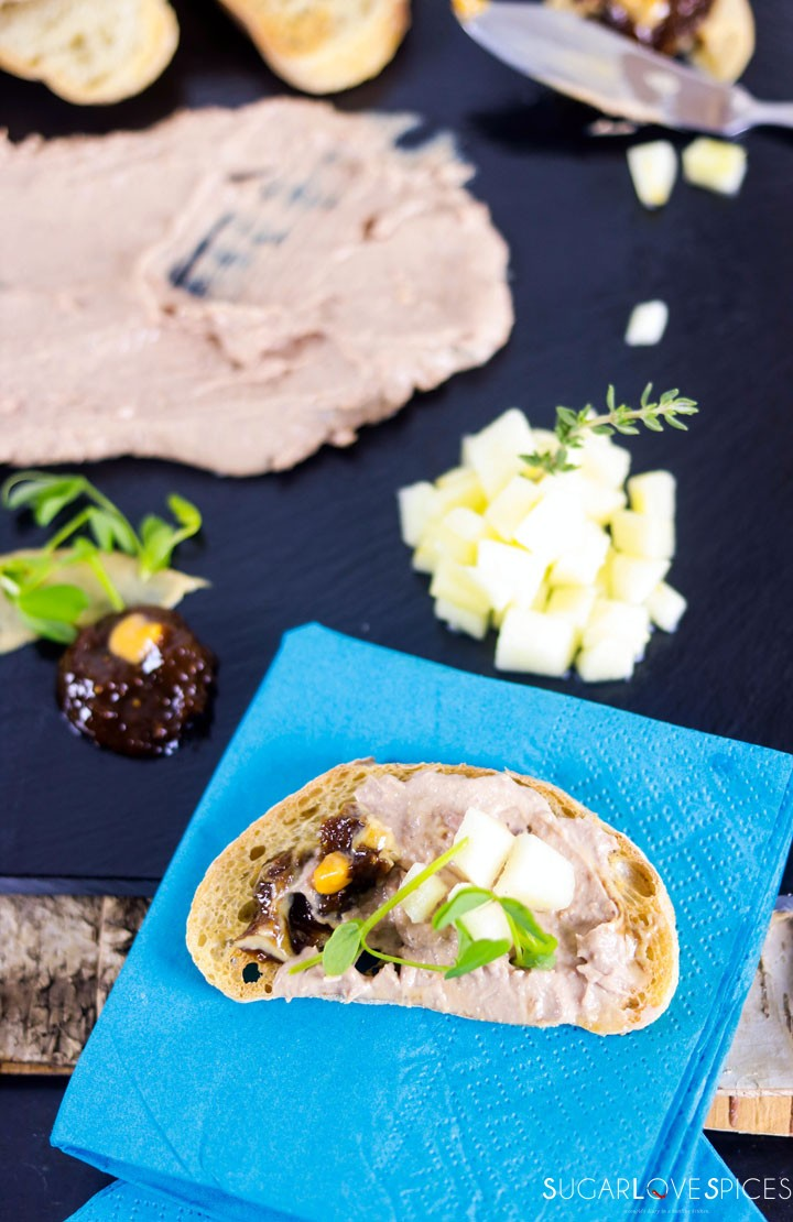 Chicken Liver Paté-on the bread