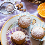Easy Almond Orange Muffins
