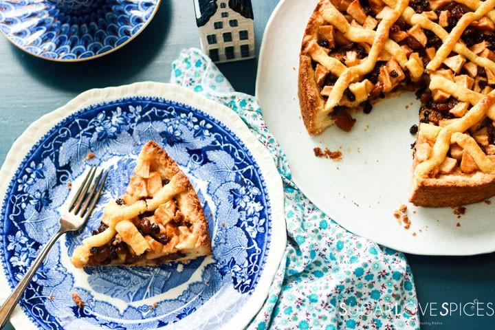 Dutch Apple Tart-tart-and-slice