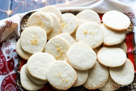 Slice and bake lemon crips-feature-cookies on a tray