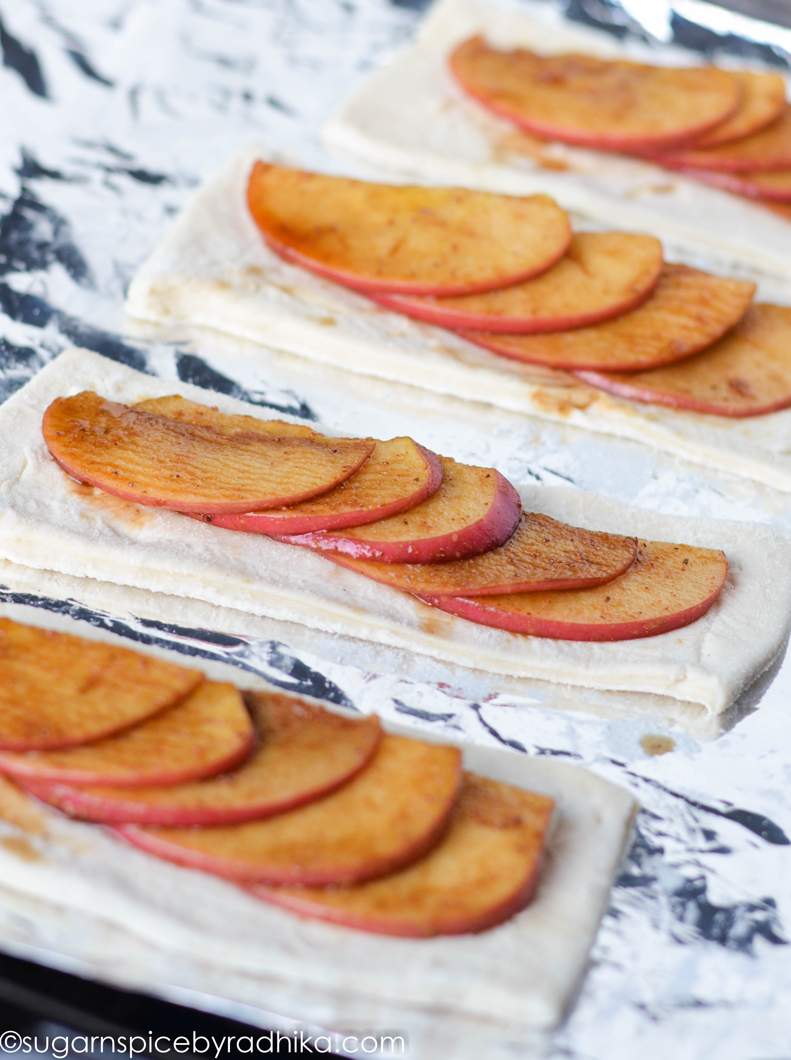 Quick and Easy Apple Tarts