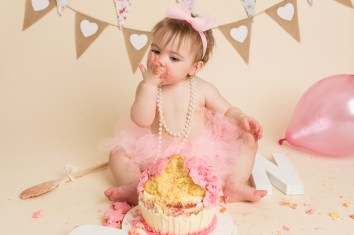 cake smash photo session 1 year old