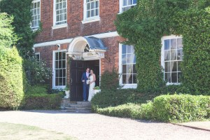 bride and groom park house hotel shifnal wedding photography