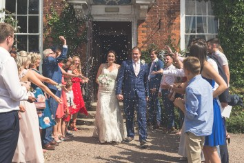 confetti shot wedding photography dudley west midlands photographer