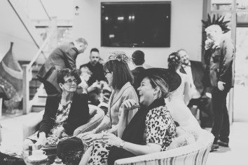 candid, black and white wedding photography