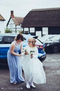 bridesmaid, flower girl, the hundred house wedding