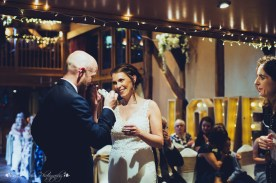 bride, groom, ceremony, wedding, the hundred house, emotion