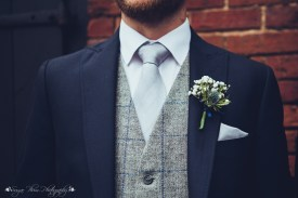 the hundred house, groom, best man, tie, waistcoat, flowers