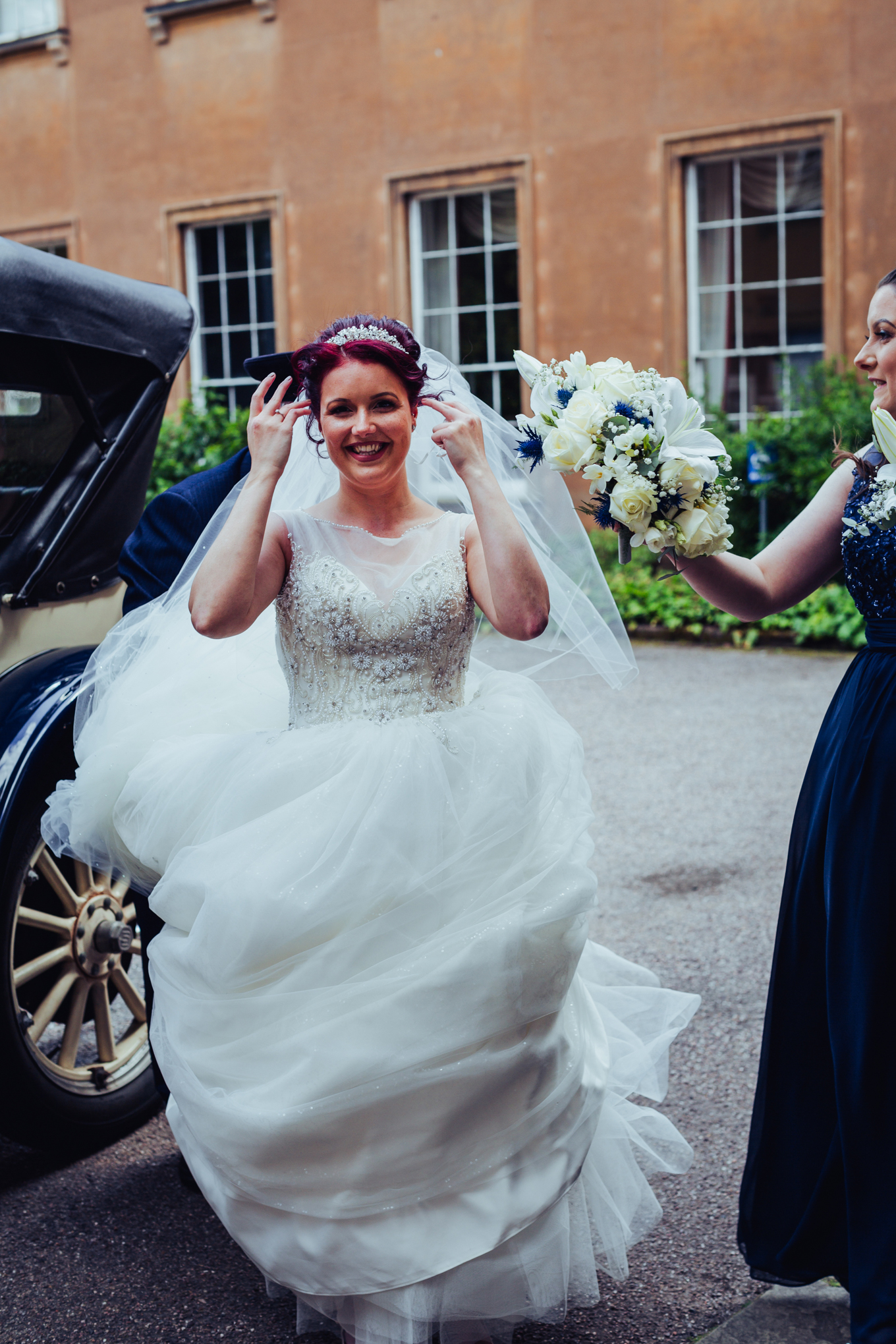 Himley Hall Wedding Photography Photographer bride