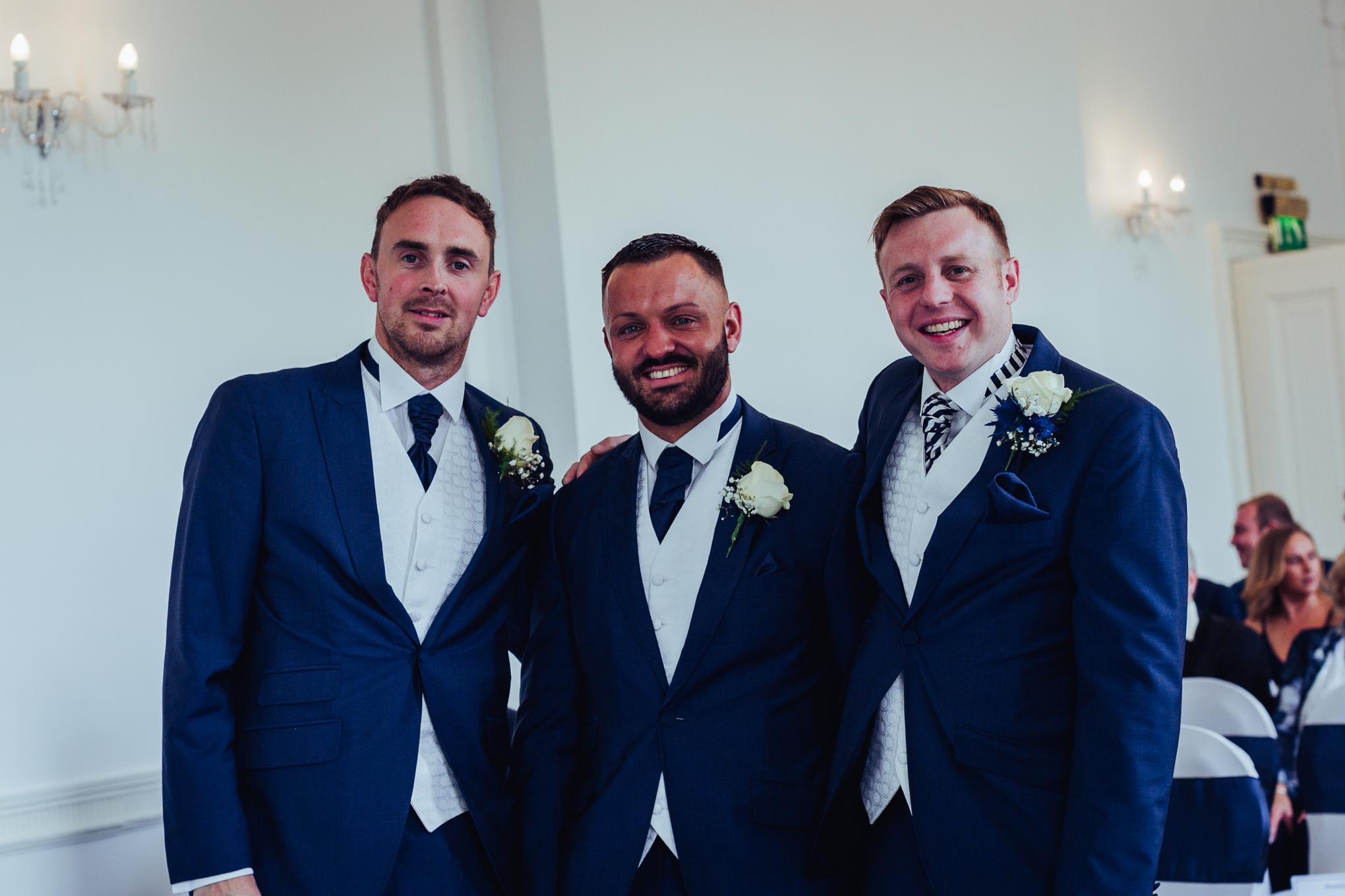 Himley Hall Wedding Photography Photographer groom