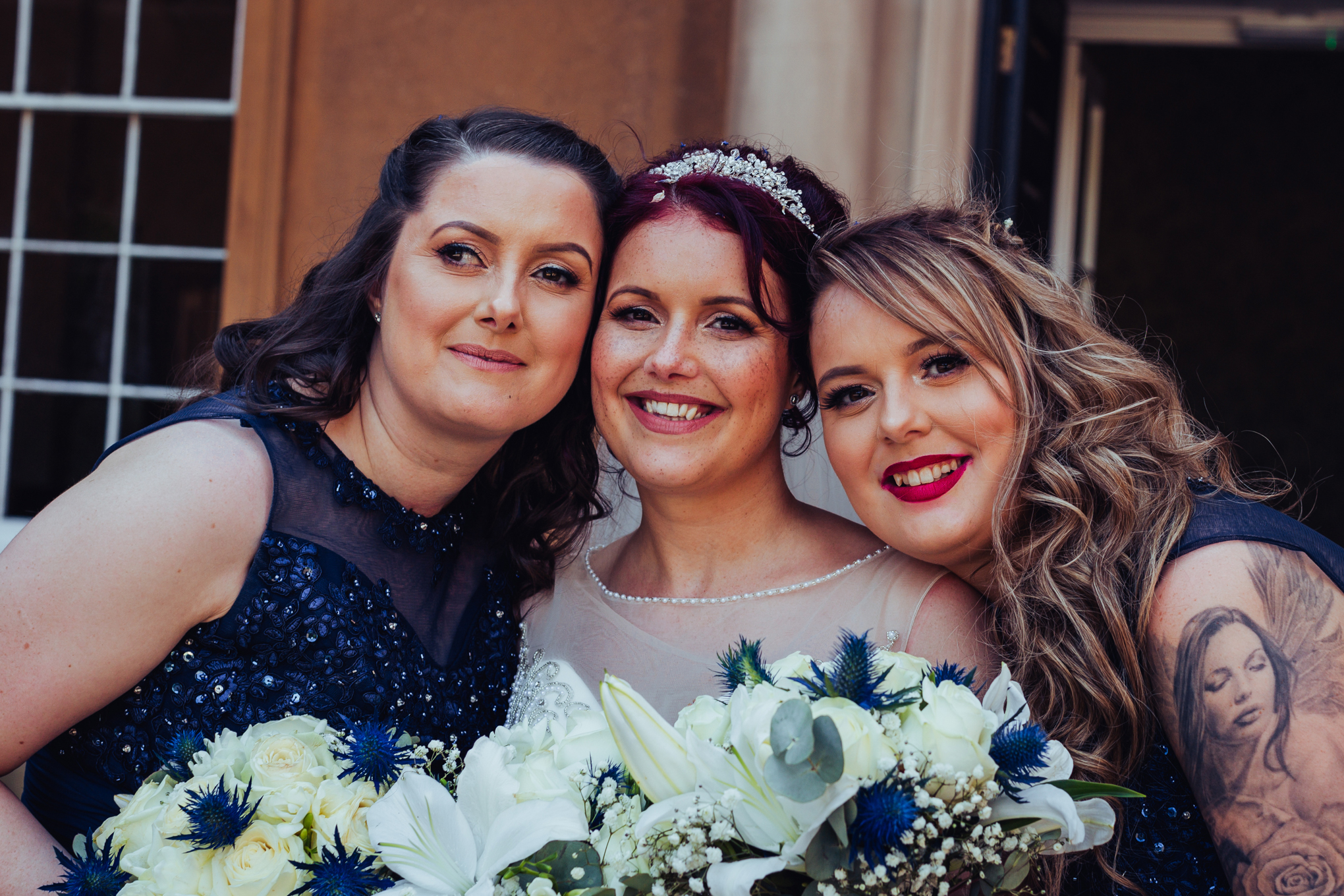 Himley Hall Wedding Photography Photographer bridesmaids