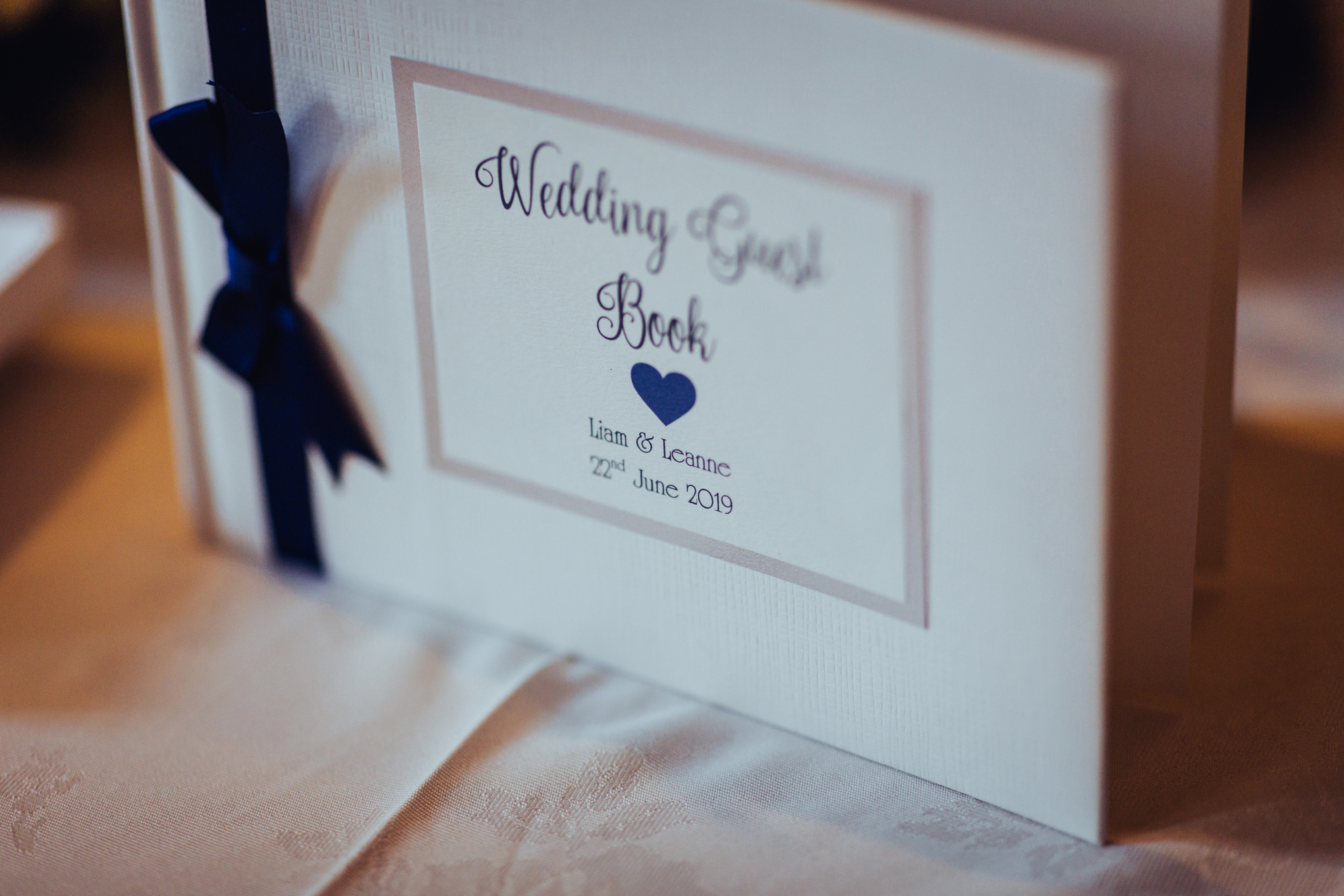 Himley Hall Wedding Photography Photographer guest book