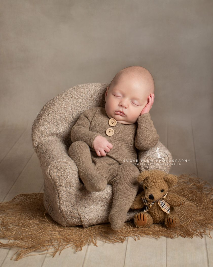 newborn photographer dudley Birmingham west midlands baby photography armchair