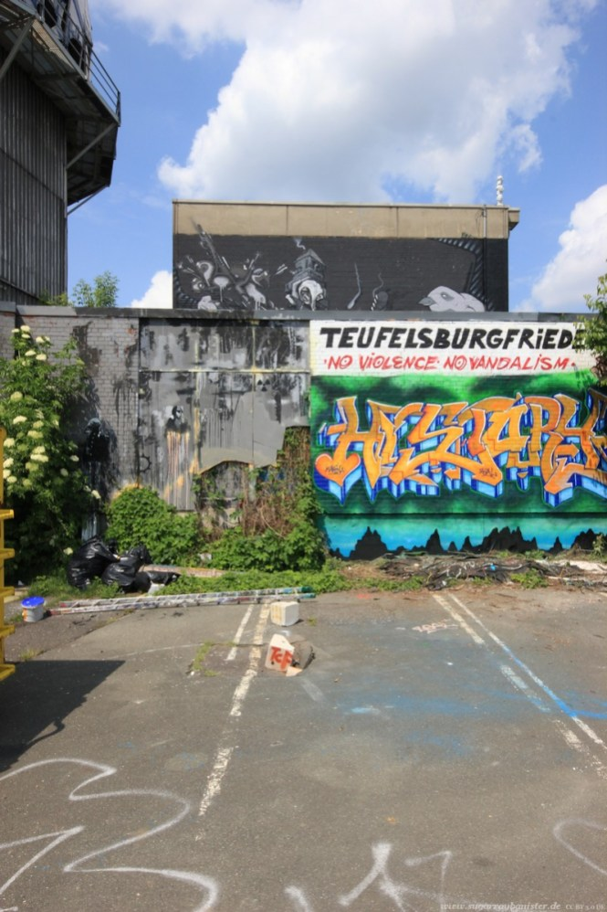 Abhörstation Teufelsberg Berlin Foto 12