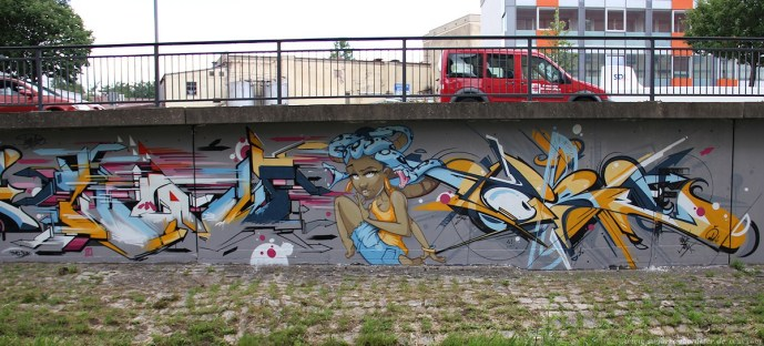 Ansbach Urban Impressions 2012 Location: Rezatwand