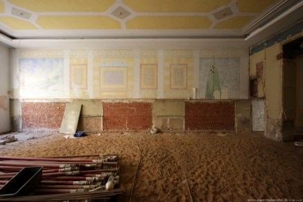 Deutscher Hof Abriss #2 - Renaissance Saal