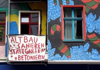 Friedrichshain: Altbau sanieren statt Garten betonieren