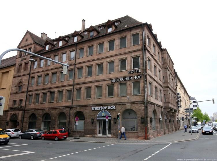 Hotel Deutscher Hof vor dem Umbau #01 - Frauentorgraben Ecke Lessingstraße
