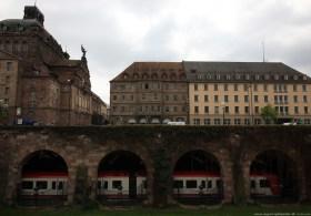 Hotel Deutscher Hof vor dem Umbau #02 - Blick über den Frauentorgraben