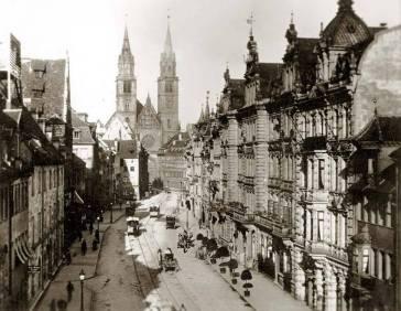 Karolinenstraße um 1890