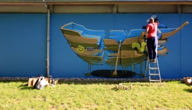Mural Art Weekend Nürnberg Impressionen #7 - Sugar Ray Banister