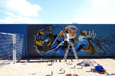 Mural Art Weekend Nürnberg Impressionen #8 - Sugar Ray Banister