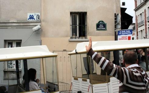 Paris Invasion - Rue Saint Eleuthere
