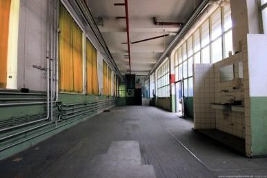 Straßenbahndepot in Nürnberg Muggenhof #14 - Werkstatt