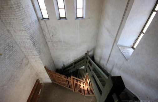 Straßenbahndepot in Nürnberg Muggenhof #23 - Im Inneren des Turms