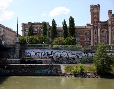 Wien 15 Donaukanal